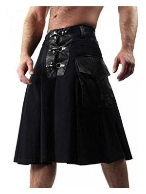New Fashion Men Cool utility kilt