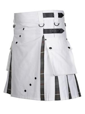 Unique Hybrid Kilt With Leather Strap