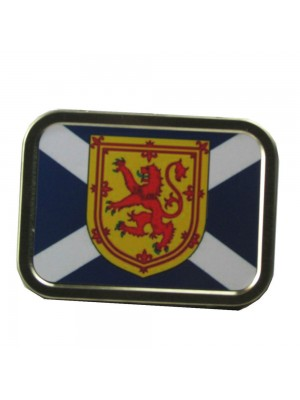 Scotland Souvenir Tobacco Smoking Tin Saltire Lion Rampant