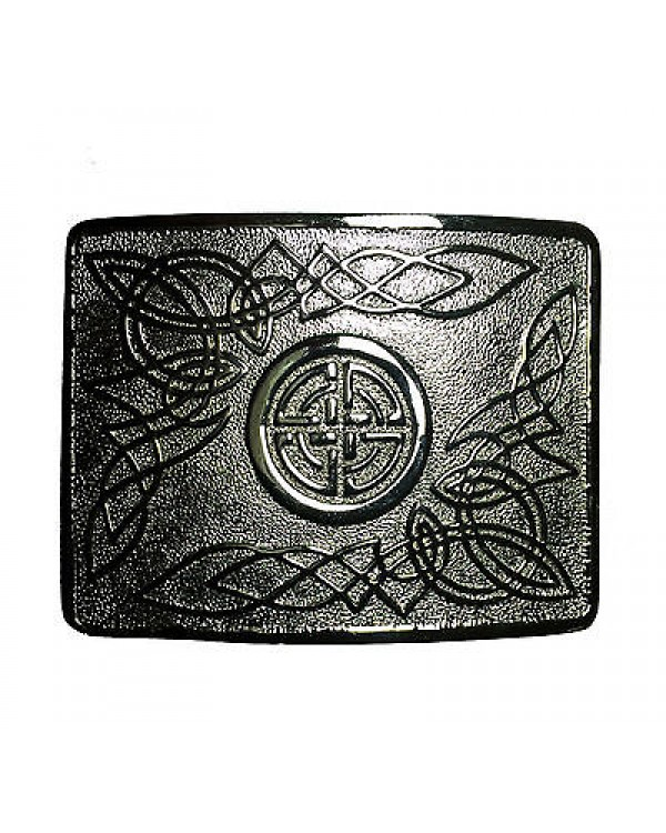 Buckle Chrome Masonic Celtic Design buckle