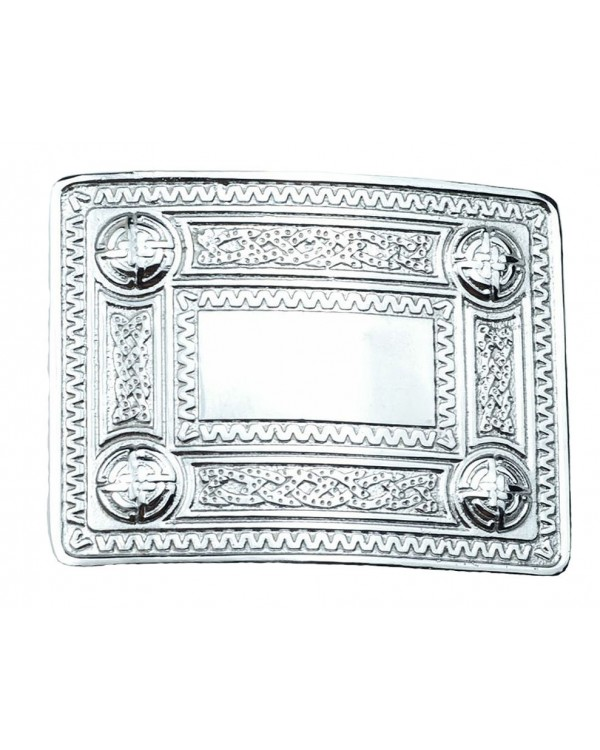 scottland Belt Buckle Chrome Masonic Celtic Masonic