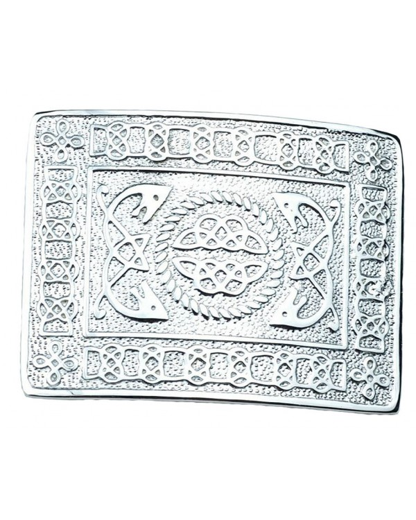 Kilt Belt Buckle Chrome Masonic Celtic