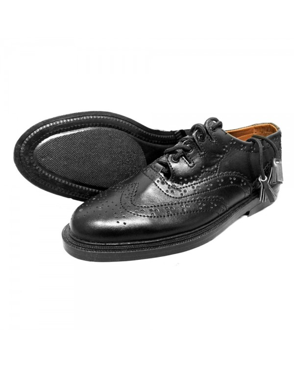 Ghillie Brouges Leather Kilt Shoes